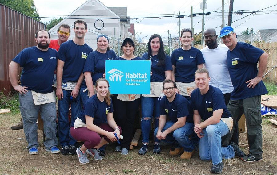 October 2017 Philadelphia Habitat Build Day
