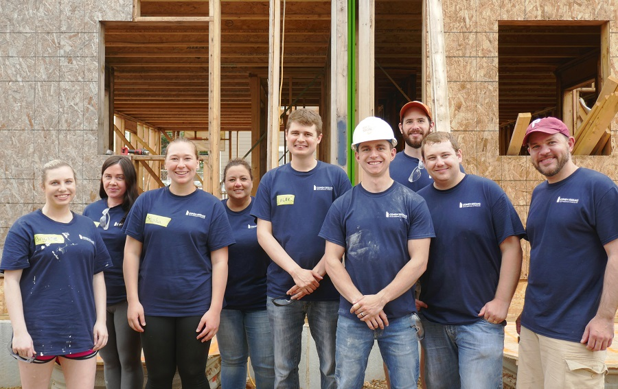 May 2018 Philadelphia Habitat Build Day