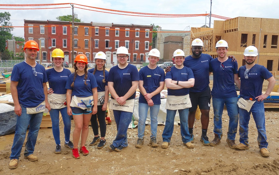 June 2019 Habitat for Humanity Philadelphia Build Day