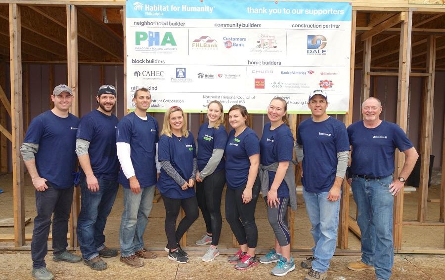 October 2019 Habitat for Humanity Philadelphia Build Day