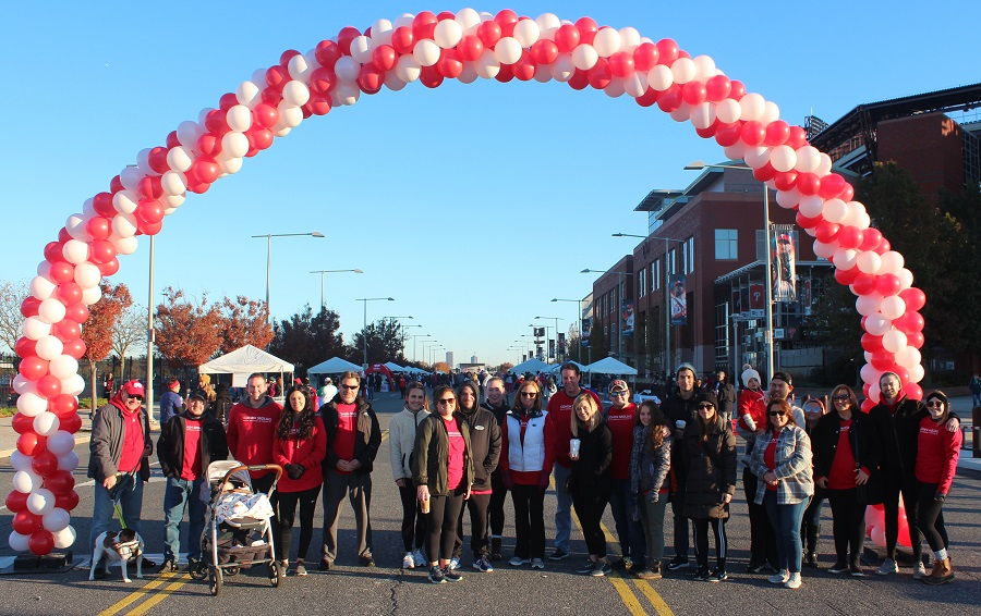 Cohen Seglias AHA Heart Walk Team 2019